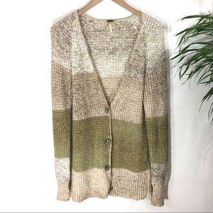 Free People Cardigan long sweater size Medium